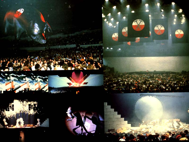 pink floyd amp co roger waters in the flesh tour book